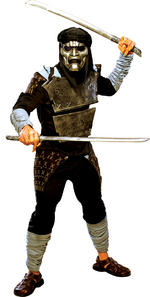 Mens Deluxe 300 Immortal Costume Fancy Dress