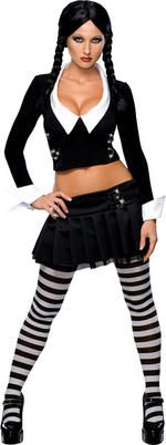 Secret Wishes Wednesday Addams Costume