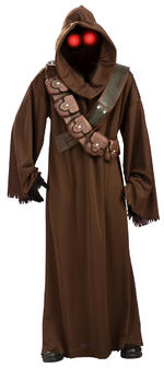 Mens Star Wars Jawa Costume Fancy Dress