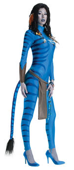 Ladies Avatar Neytiri Costume Fancy Dress