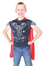 Kids The Avengers Thor Dress Up Set Fancy Dress Small