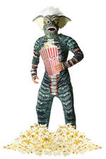 Mens Gremlin Stripe Costume Extra Large