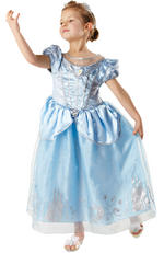 Disney Princess Anniversary Cinderella Costume Kids Fancy Dress Large 7-8 Years