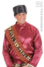 Black Satin Turban Adult Fancy Dress