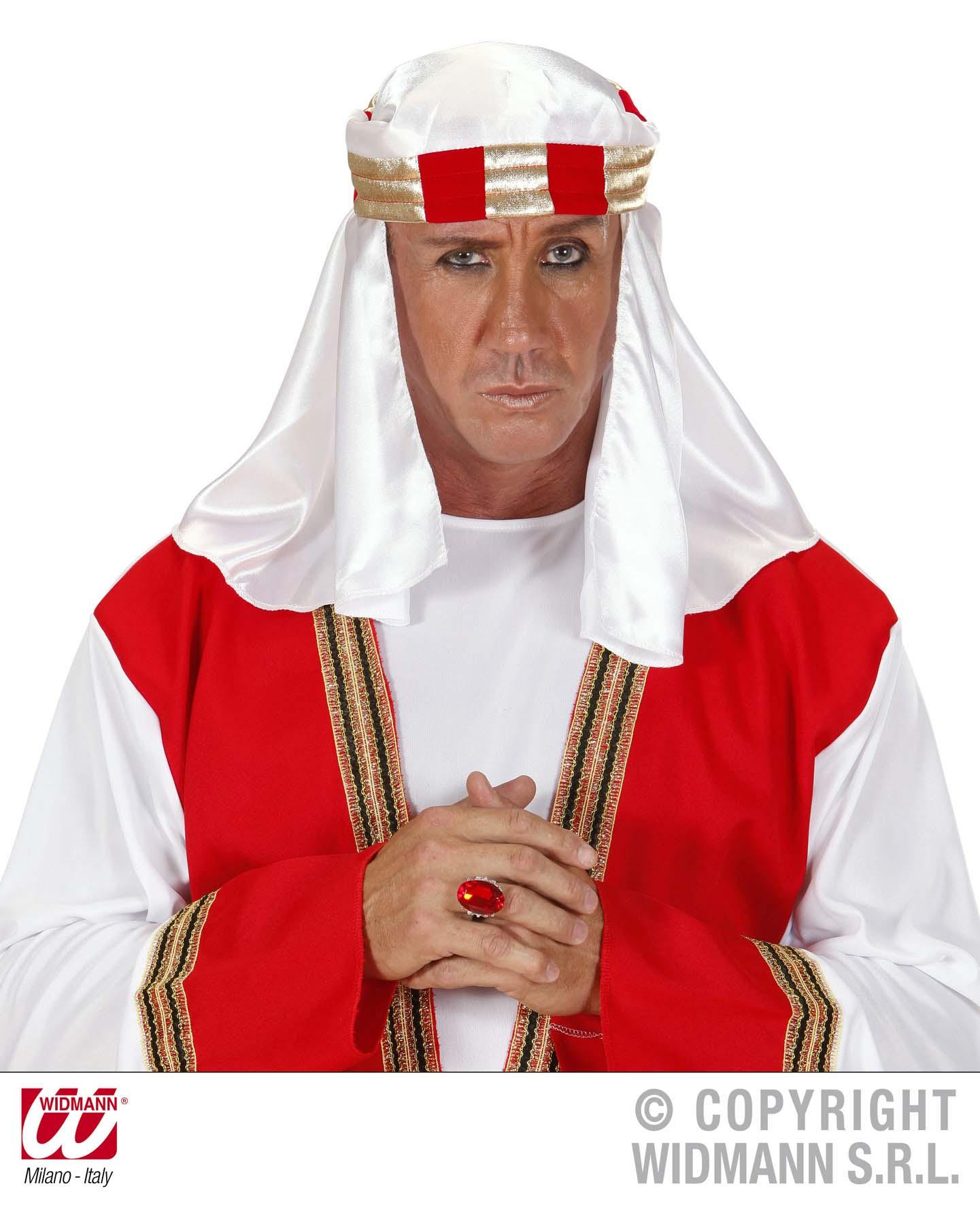 how to put on arab headdress