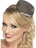 Pill Box Army Hat Adult Smiffys Fancy Dress