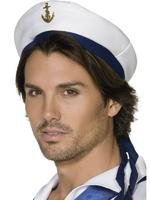 Sailor Hat Adult Smiffys Fancy Dress