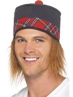 Traditional Scottish Hat Adult Smiffys Fancy Dress
