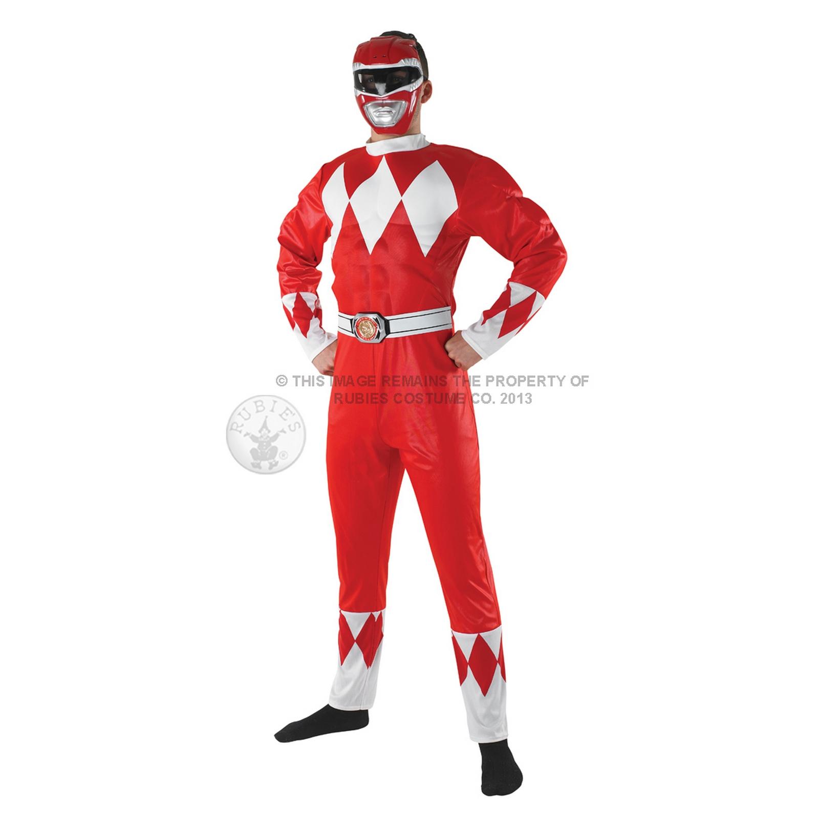 ranger costume mens fancy dress power