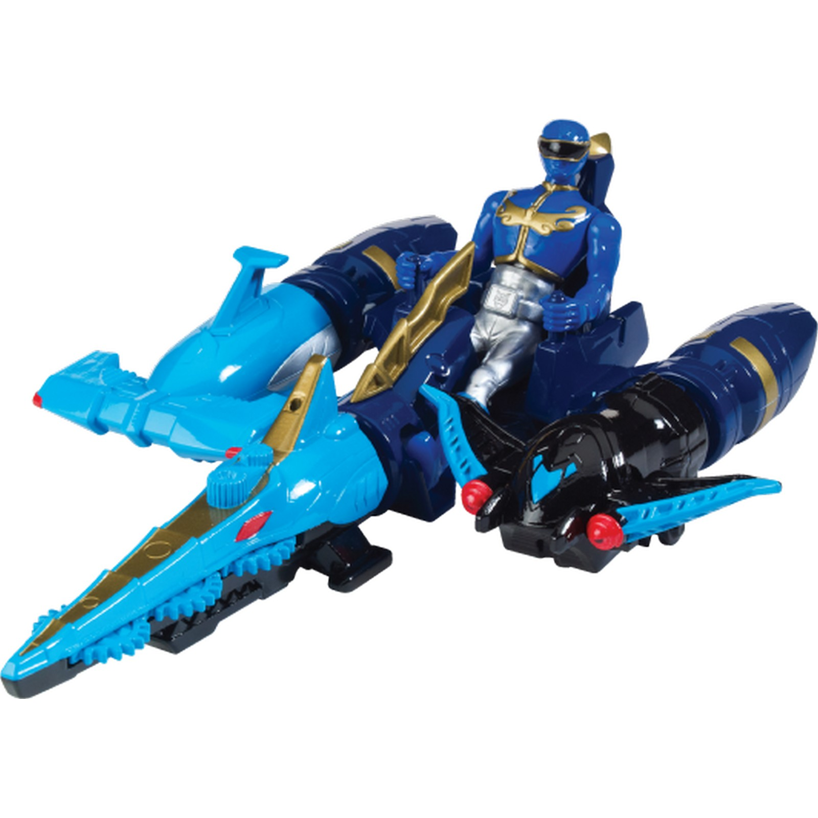 Sea Brothers Zord Blue Power Rangers Megaforce Action ...