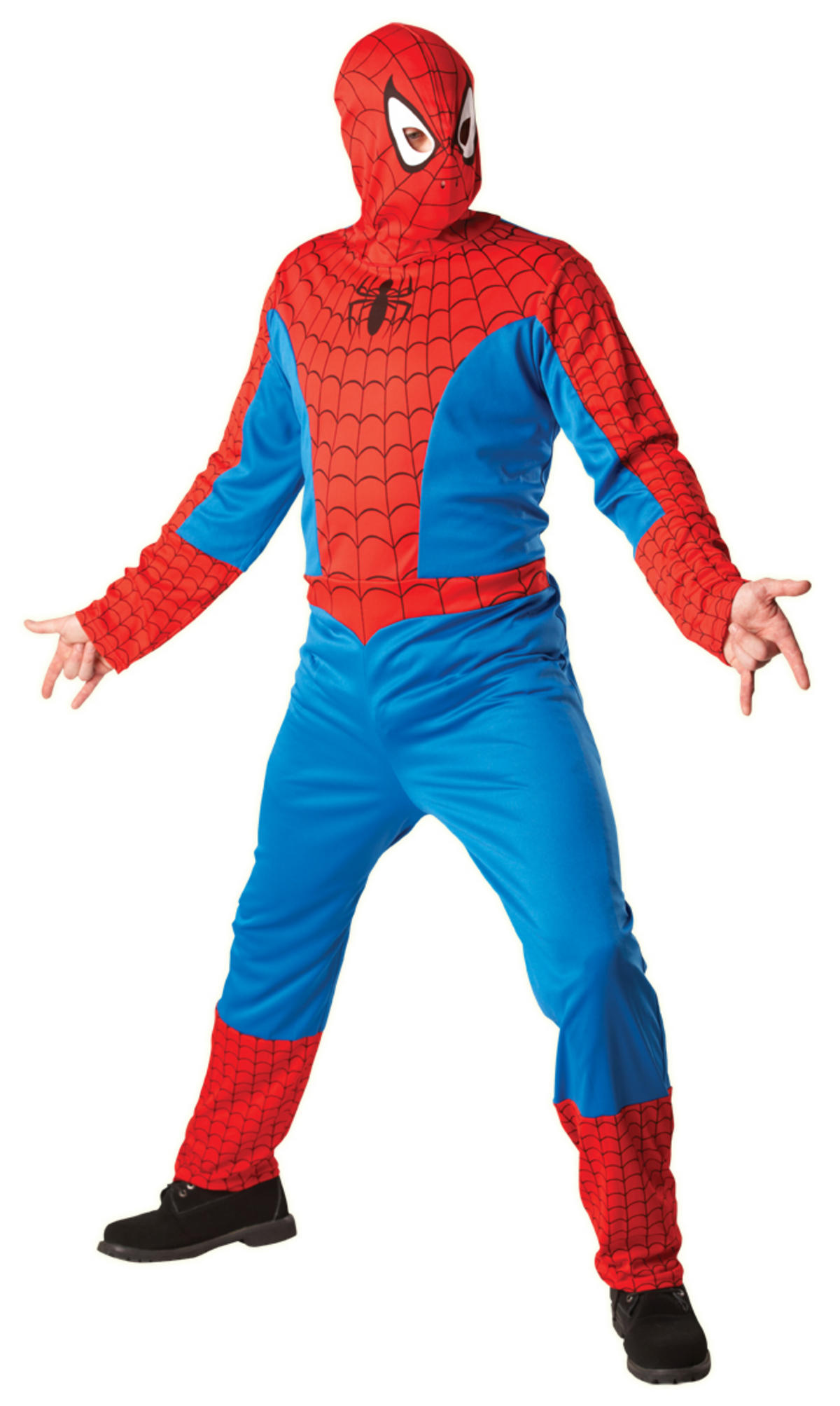Spider-Man Classic Costume Adult Fancy Dress Preview