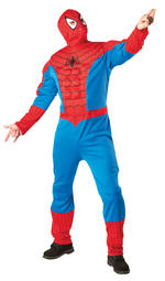 Spider-Man Classic EVA Muscle Chest Costume Adult Fancy Dress