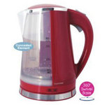 View Item Lloytron 360 1.7L 2200W Cordless Jug Kettle E893RD-Red