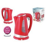 View Item Lloytron E895RD Cordless Kettle 1.7Ltr 2200W - Red