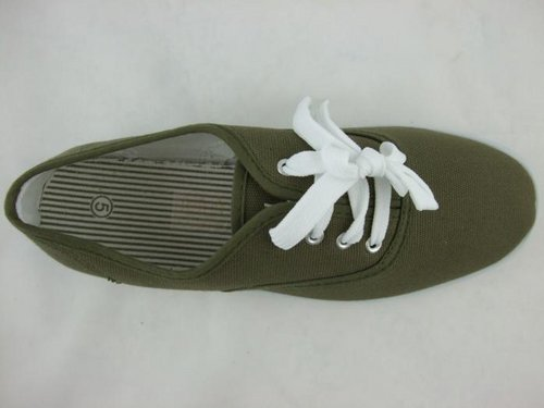 Item Details - Ladies Canvas Trainers Pumps Deck Shoes Womens Size 3-8