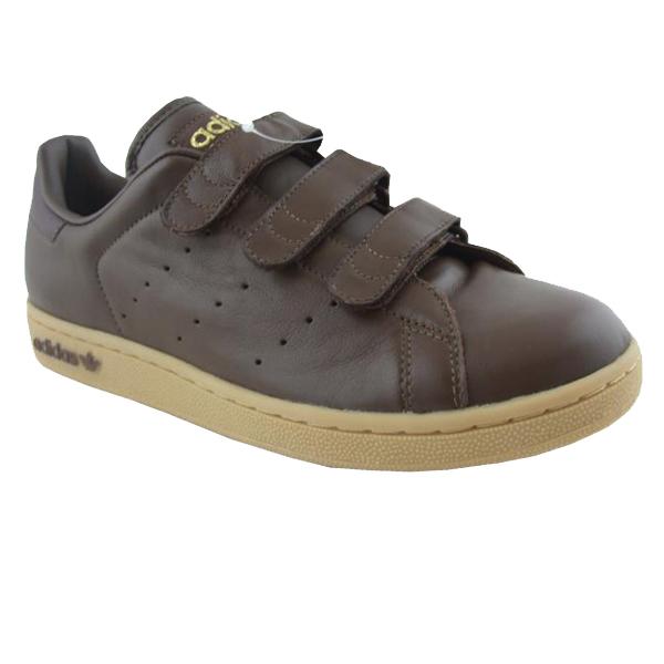 scarpe donna adidas stan smith da ginnastica allenamento marroni in pelle velcro ebay. Black Bedroom Furniture Sets. Home Design Ideas