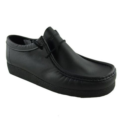 Item Details - Mens Leather Nickelson Wallaby Black Shoes Size UK 6-12