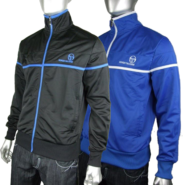 mens sergio tacchini master track suit top jacket s 4xl ebay. Black Bedroom Furniture Sets. Home Design Ideas