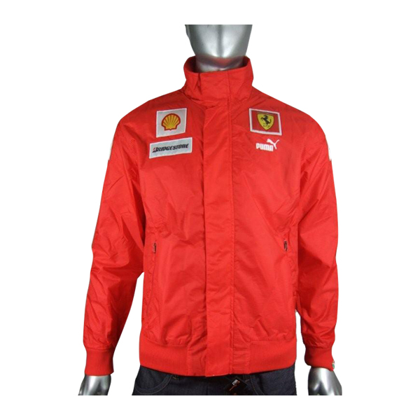 herren jacke ferrari rote aufw rmjacke puma formel 1 team. Black Bedroom Furniture Sets. Home Design Ideas