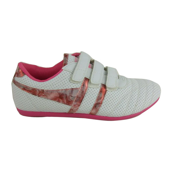Ladies-Gola-White-Pink-Trainers-Shoes-Womens-Size-3-8