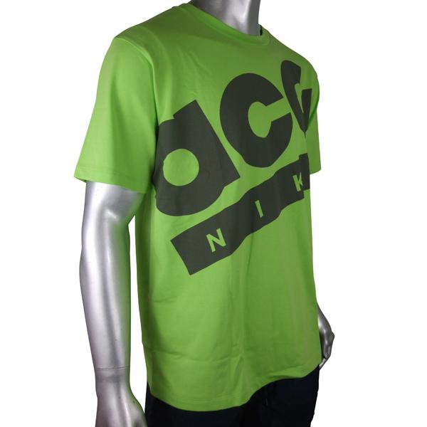 Mens-Nike-ACG-Green-Running-Dri-Dry-FIT-T-Shirt-Top-Tee