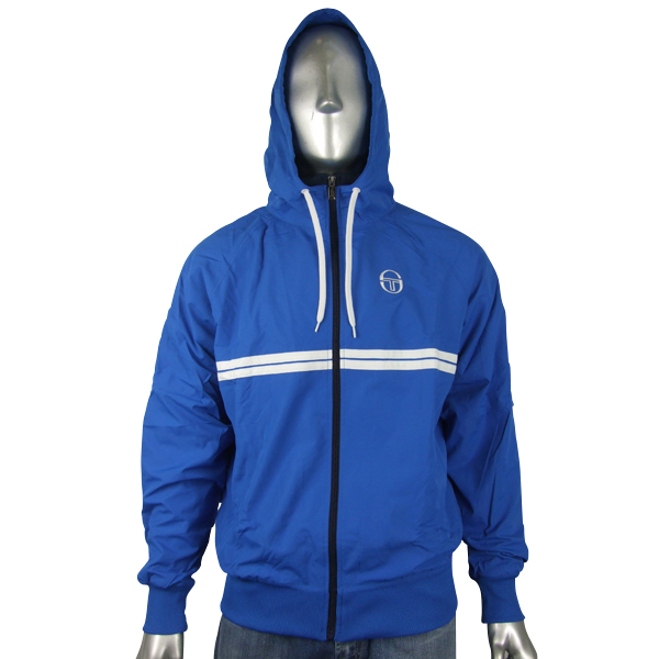 sergio tacchini track suit top windrunner hooded jacket. Black Bedroom Furniture Sets. Home Design Ideas