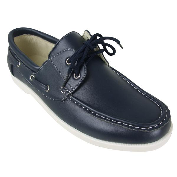 Mens-Smart-Loafer-Boat-Deck-Shoes-Size-6-7-8-9-10-11-12