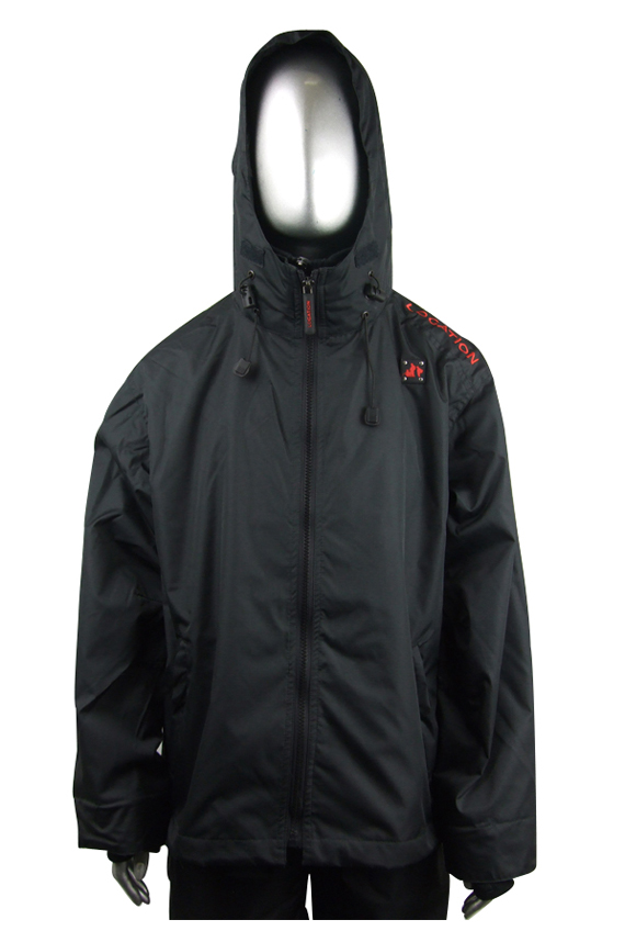 Junior Boys Location Balfour Rain Hooded Jacket Coat Enlarged Preview