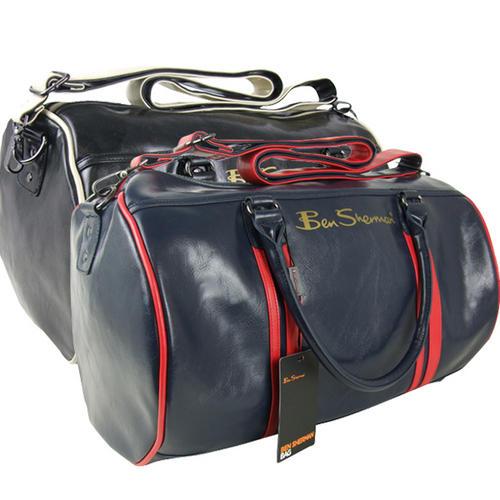 Item Details - New Ben Sherman Barrel Holdall Shoulder Sports Mod Bag