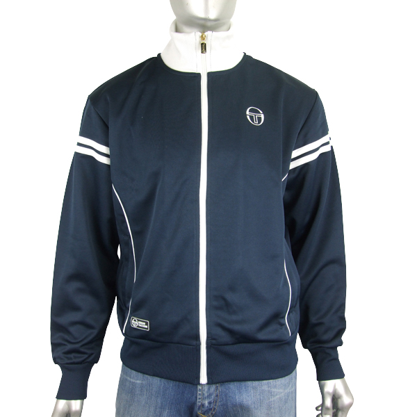 Mens-Sergio-Tacchini-Fjord-Track-Suit-Top-Retro-Jacket