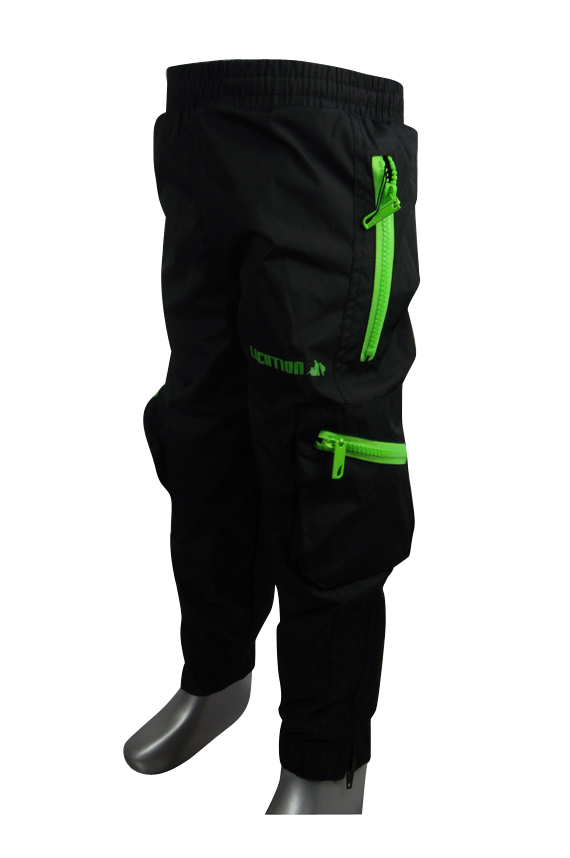 Boys-Location-Waterproof-Black-Tracksuit-Cuffed-Track-Pants-Kids-Infants