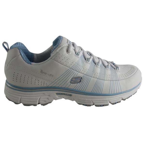 Womens-Skechers-Ready-Set-Jet-White-Running-Tone-Ups-Fitness-Trainers-UK-UK-3-8