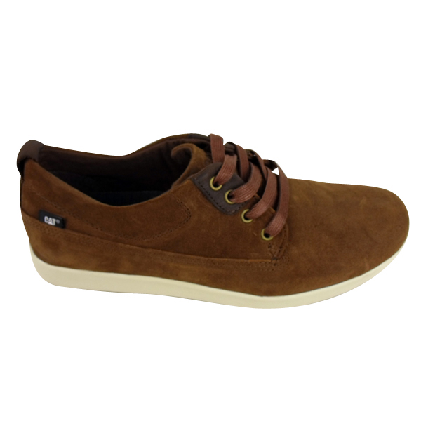 Mens Brown Suede Cat Shoes