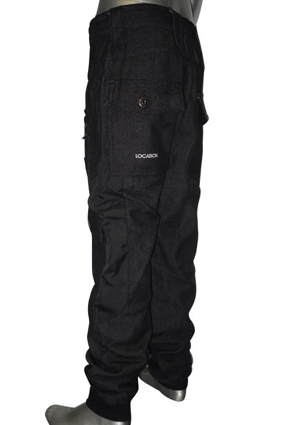 Boys-Location-Takon-Cuffed-Cargo-Combat-Denim-Designer-Jeans-Waist-Size-17-29