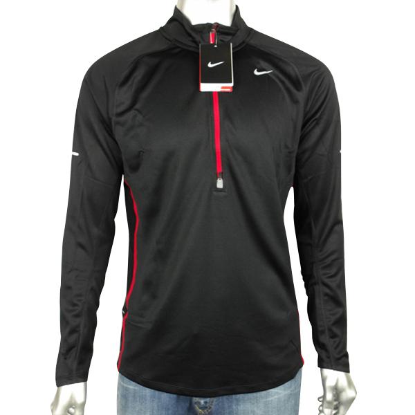 Mens Nike Dry Dri FIT Running Training Shirt Reflective Long Sleeve ... a397f235a