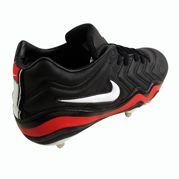 Mens Nike No 8 Mid Sg Rugby Boot Black Soft Ground Studs