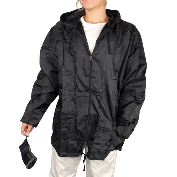 Ladies-Kagool-Kagoul-Cagoule-Rain-Jacket-Womens-Hood-Running-Raincoats-Size