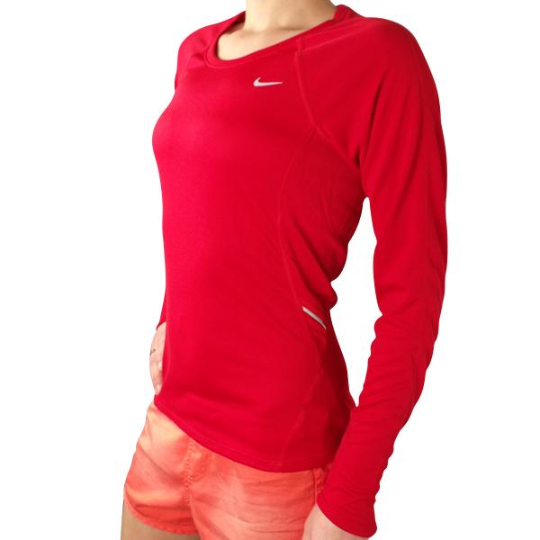 Ladies nike dry dri fit t shirt tee top long sleeve for Nike dri fit t shirt ladies