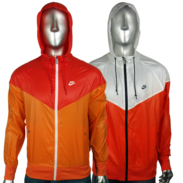 22d20020fb17 Image is loading Mens-Nike-Air-Orange-White-Windrunner-Windbreaker-Hooded-