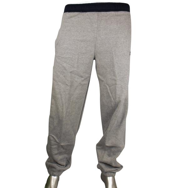sport hose herren nike fleece trainingshose jogginghose s m l xl grau baumwolle. Black Bedroom Furniture Sets. Home Design Ideas