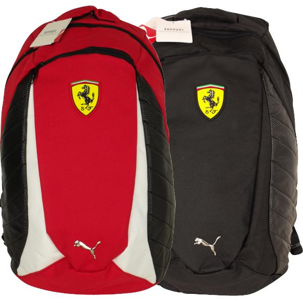Puma Ferrari Replica School Rucksack Backpack Shoulder Large SF Scuderia Bag | eBay