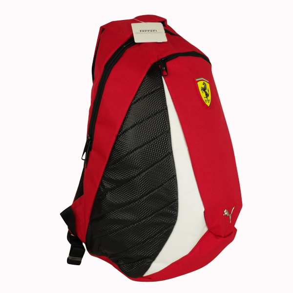 puma ferrari replica school rucksack backpack shoulder