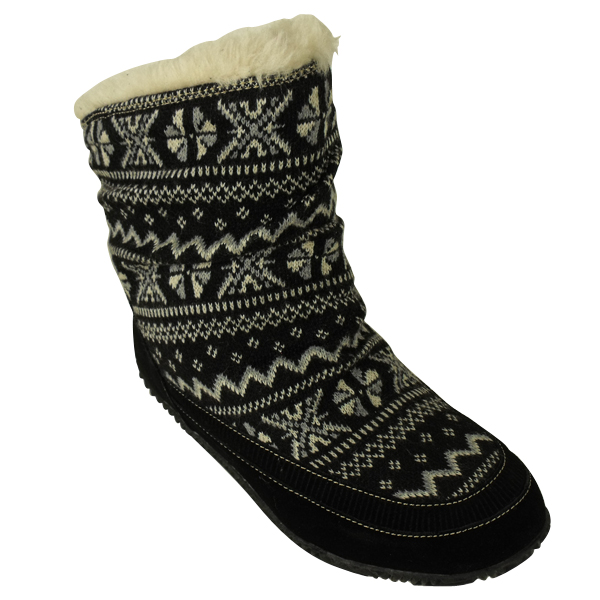 Ladies Rocket Dog Tahoe Knitted Eskimo Boot Winter Womens