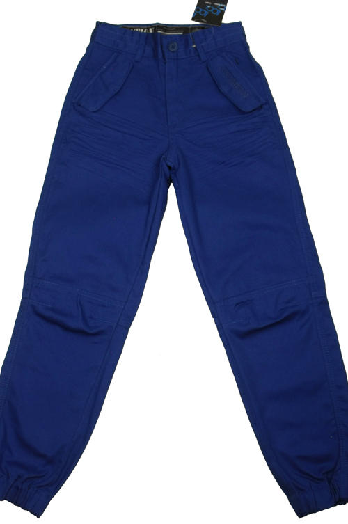 Item Details - Junior Boys Location Geiger Chino Pant Blue Cuffed