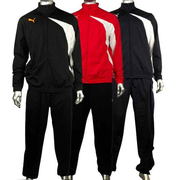 puma tracksuit red