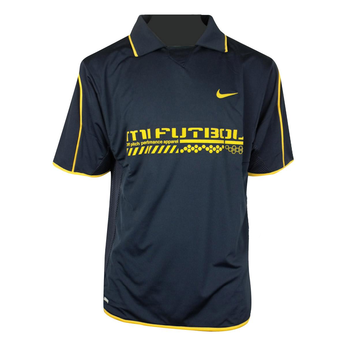 Mens-Nike-Dry-Dri-FIT-Football-Running-Shirt-Training-Top-Gym-Polo-Tee-Size-XS-X