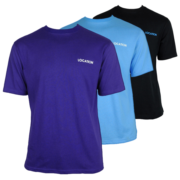 Mens-Location-Pack-Of-3-Crew-Neck-Assorted-Colours-Tee-T-shirt-Top-Size