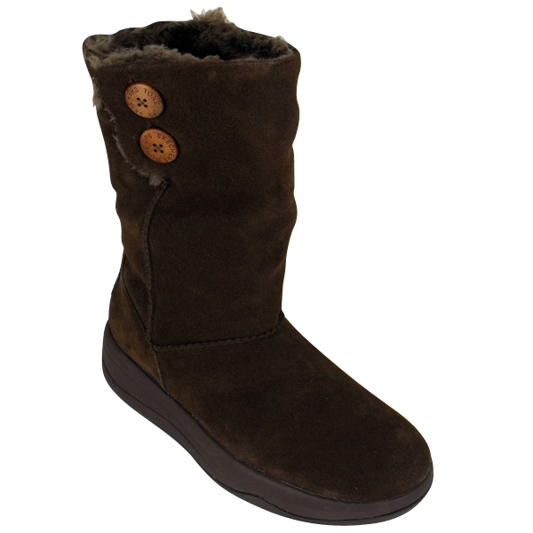 womens skechers tone ups chalet boot suede leather