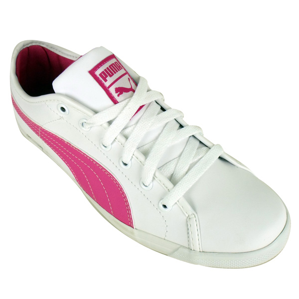 Puma Women flat shoes white pink At SellPuma.com