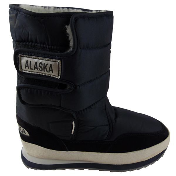 Mens-Boys-Shearling-Snow-Quilted-Thermal-Warm-Winter-Boot-Moon-Jogger-Rain-Boots
